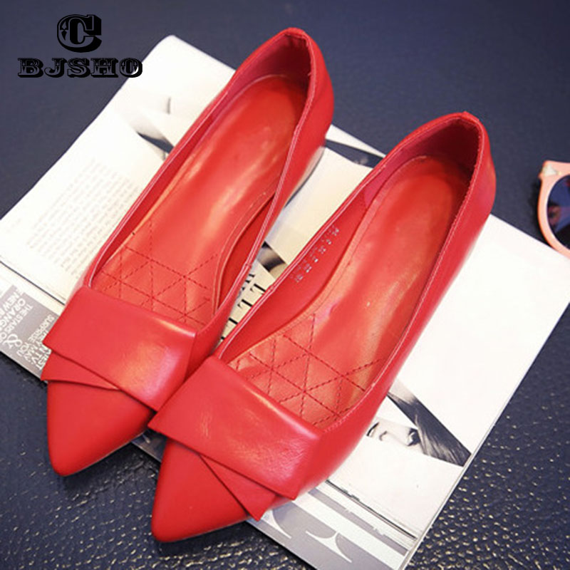 CBJSHO 2017 Ladies Loafers Flats Women Square Heel Shoes Pointed Toe Oxford For Women Spring Brand