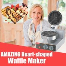 1pc high quality Heart-shaped round waffle machine waffle maker waffle machine  Commercial Household Electric 110V/220V