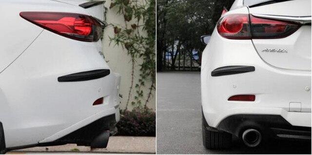 Car styling sticker car bumper anti collision strip for opel mokka zafira b corsa d