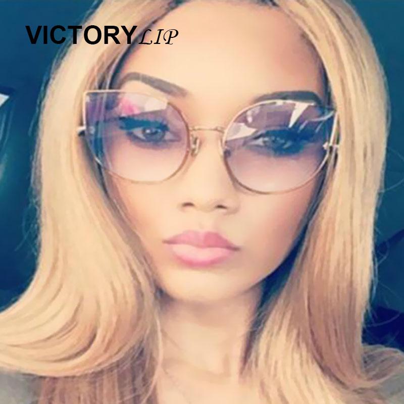 VictoryLip Cat oko Značkové značkové sluneční brýle Ženy - Příslušenství pro oděvy