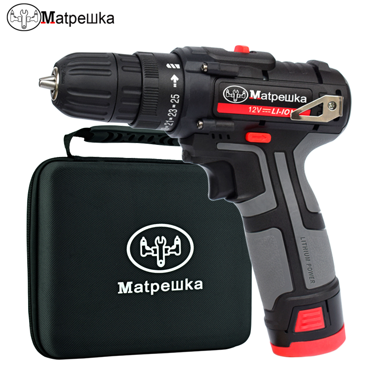 12V rechargeable battery Screwdriver Electric drill charged drill electric screwdriver  lithium battery Two speeds torque drill12V rechargeable battery Screwdriver Electric drill charged drill electric screwdriver  lithium battery Two speeds torque drill