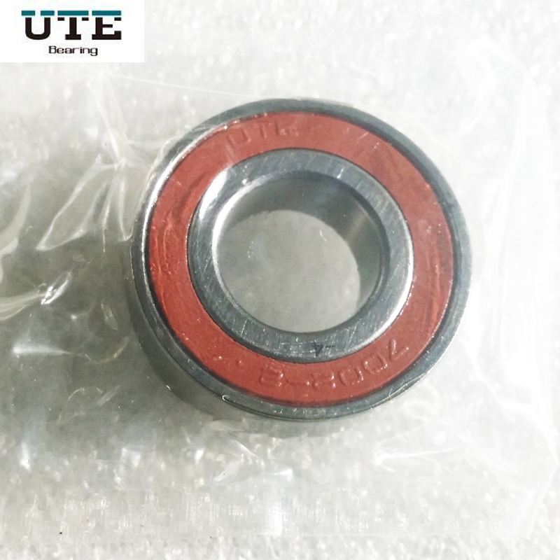 1pcs UTE 7004 7004C H7004C 2RZ P4 20x42x12 Sealed Angular Contact Bearings Engraving Machine Speed Spindle Bearings CNC Bearing 1pcs 71822 71822cd p4 7822 110x140x16 mochu thin walled miniature angular contact bearings speed spindle bearings cnc abec 7