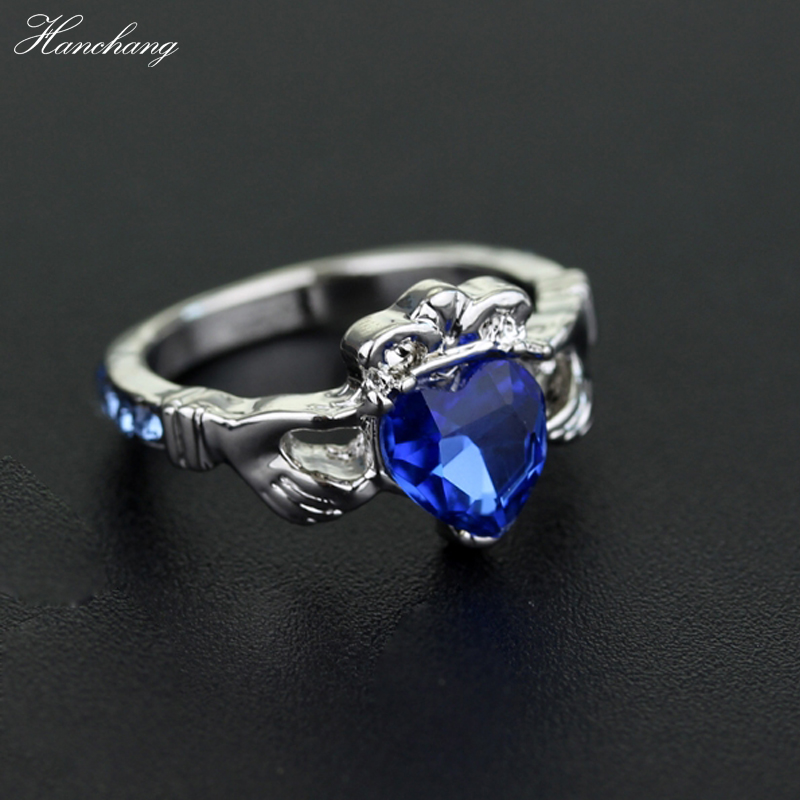 HANCHNAG Jewelry Harry Ring Ravenclaw scs