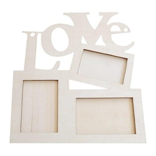 bulk price fashion love wooden photo frame