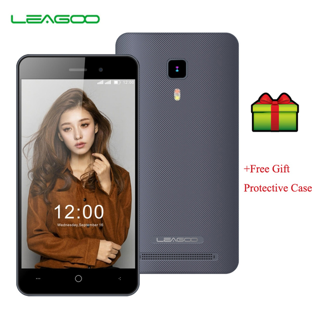 LEAGOO Z1 3G Phone 512MB RAM 8GB ROM 4 inch LEAGOO OS 1.1 Lite Android 6.0 SC7731c Cortex A7 Quad Core 1.3GHz Free Case Gift