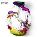 New Stylish Men/women 3d Sweatshirts Colorful Painted Horse Autumn Hoodies Drop Ship