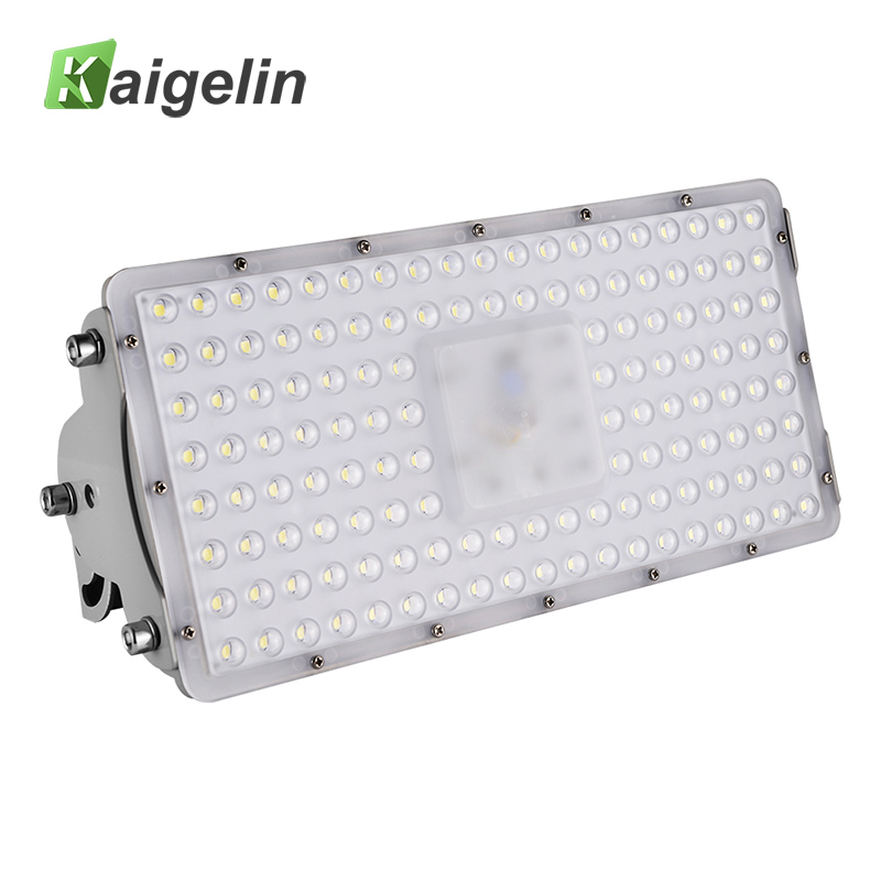 Kaigelin 100W LED Flood Light 9000LM Waterproof LED Projector Spotlight Garden Wall Lamp Floodlight Outdoor Lighting 220-240V lefan 2018 sport suits 3pcs men elastic running fitness sets male training sportswear clothes set gym tracksuits tight leggings