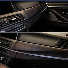 SUNICE, 124 см x 30 см, ПВХ, деревянная зернистая текстура, пленка для мебели автомобиля, Виниловая пленка для декора автомобиля, наклейки для интерьера автомобиля