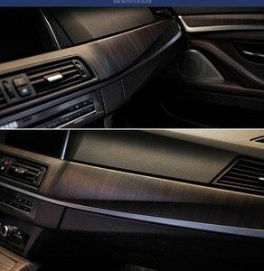 Image 1 - SUNICE 124CMx30CM PVC Wooden Grain Texture Film Car Furniture Wrap Vinyl Film Decor Vehicle Interior Sticker Decals Car Styling