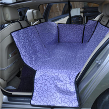 Car Seat Cushion Covers Carriers Oxford Fabric Paw pattern Car Back Seat Carrier Waterproof Pet Mat Hammock Cushion Protectoin pet carriers fabric paw pattern car pet seat cover dog car back seat carrier waterproof pet mat hammock cushion protector