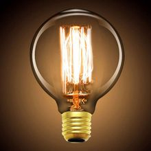 Retro style Edison LED E27 light source 4W G80 filament bulb romantic