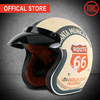 TORC T50 jet helmet motorcycle open face helmet retro personalized motorbike vintage helmet capacete moto helmet DOT