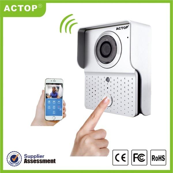 WiFi-601 Free Shipping Manufature Wifi Door Bell Ring with Camera Wifi-601 Video Door Bell Wifi Cheap wifi