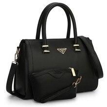 2015 Boston bag Korean fashion simple and elegant women handbag famous designer shoulder bag + Get a free Clutch Value for money
