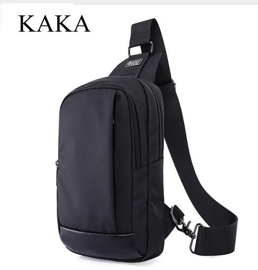 KAKA Brand Men Messenger Bag Antitheft shoulder bag chest pack Day pack Cross body Back Pack Men's Chest Sling bag for man chauvet ezpin pack