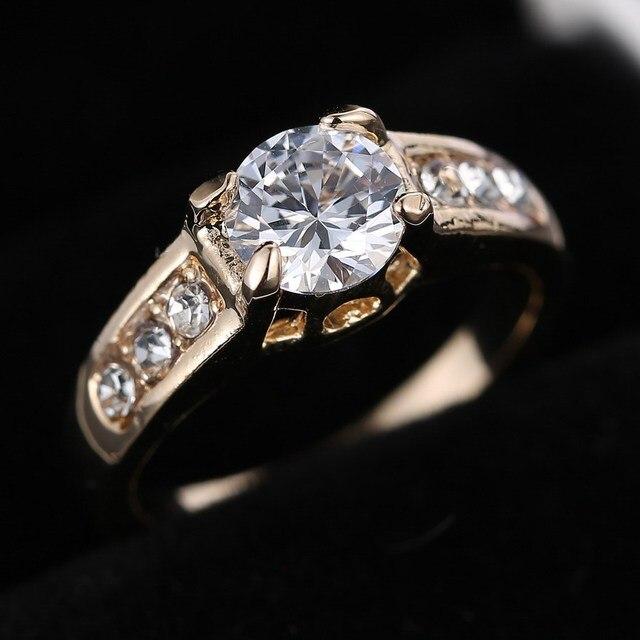 diseos de anillos de boda anillos de las mujeres de moda nico color tamao de