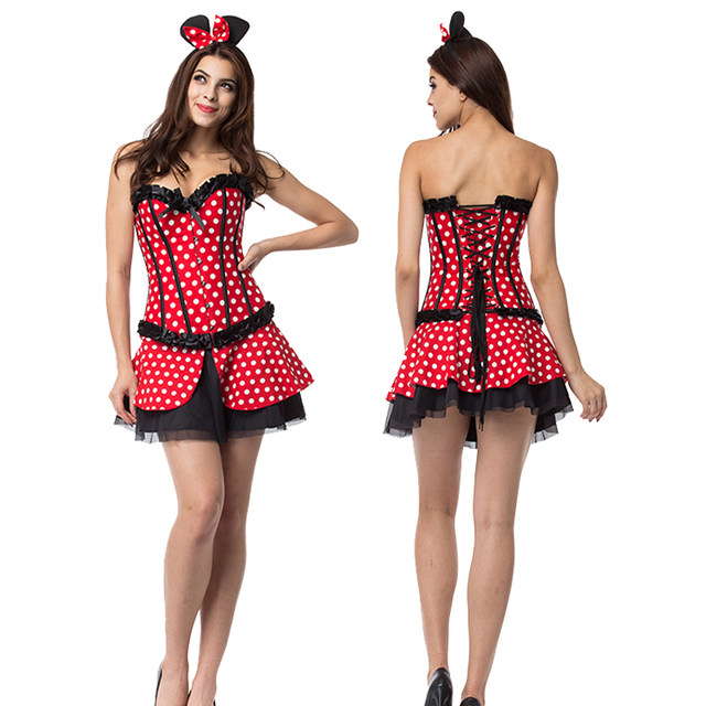 Sexy minnie mouse halloween