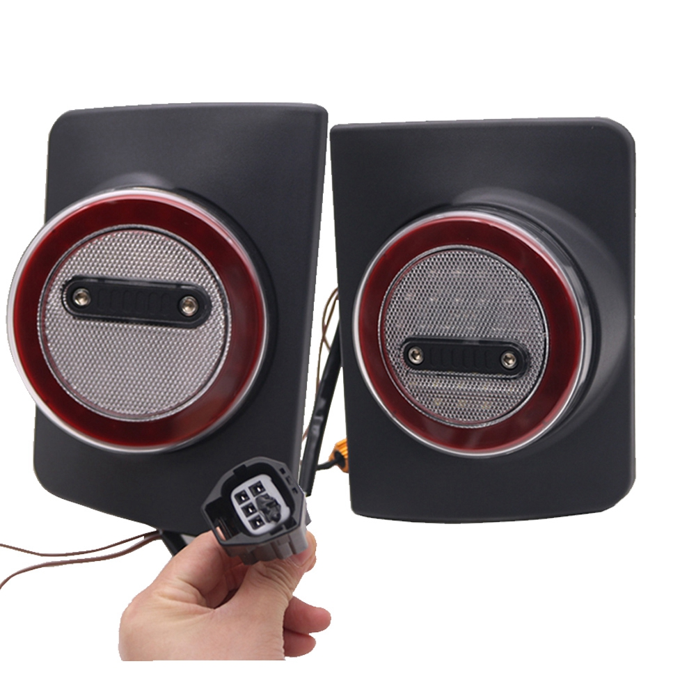 Marlaa LED Tail Lights for 07 17 Jeep Reverse Light Turn Signal Lamp Running Lights for