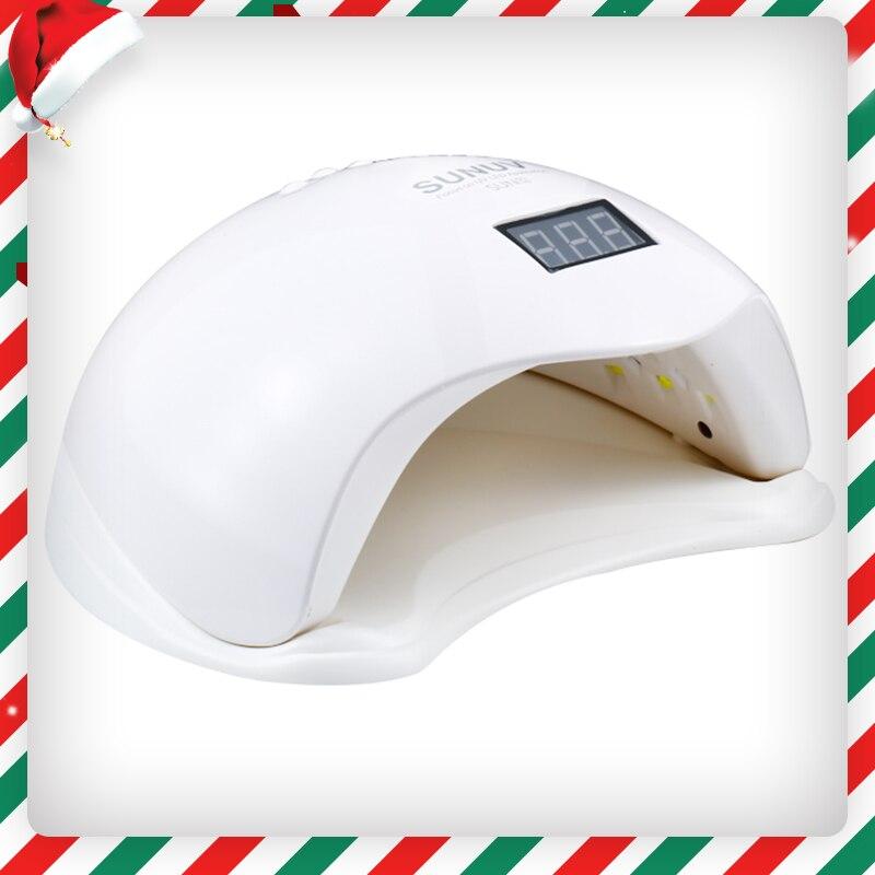 УФ светодио дный ногтей Лампа 48 Вт Sun5 с ЖК-дисплей таймер и снизу макияж Сушилка для ногтей польский машина для лечения ногтей инструменты (5)
