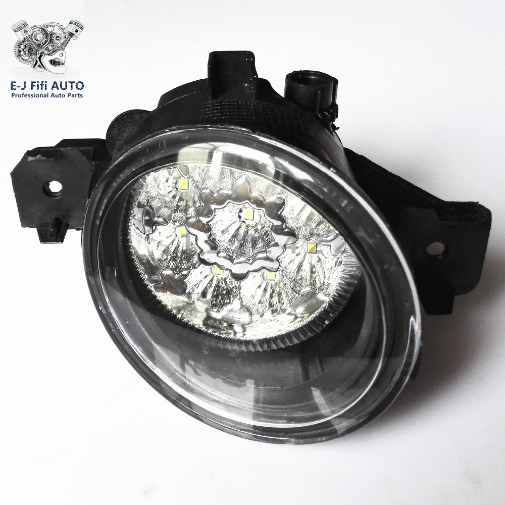 For NISSAN Platina  2002-2010  Car-styling running lights led fog light fog lamp  12V  1 SET  Refit Blue Yellow White leadtops car led lens fog light eye refit fish fog lamp hawk eagle eye daytime running lights 12v automobile for audi ae