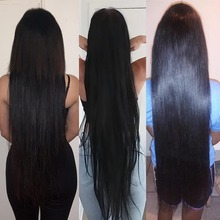 30 inch 32 34 36 38 40 inch Bundles Silky Straight Peruvian Human Hair Bundles Remy hair weave Long hair Extensions