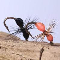 12# hook hand tied resin ant fly fishing lure fishing flies mwb002