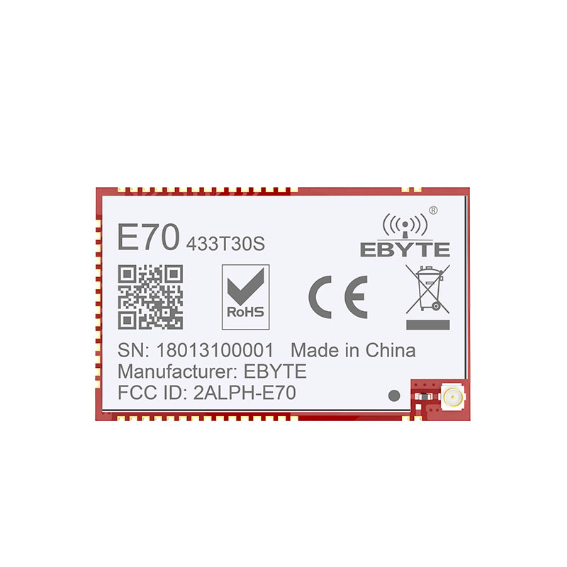 Image 2 - E70 433T30S CC1310 1w  433MHz IOT SMD rf Wireless uhf Module Transmitter and Receiver 433MHz RF Module-in Fixed Wireless Terminals from Cellphones & Telecommunications