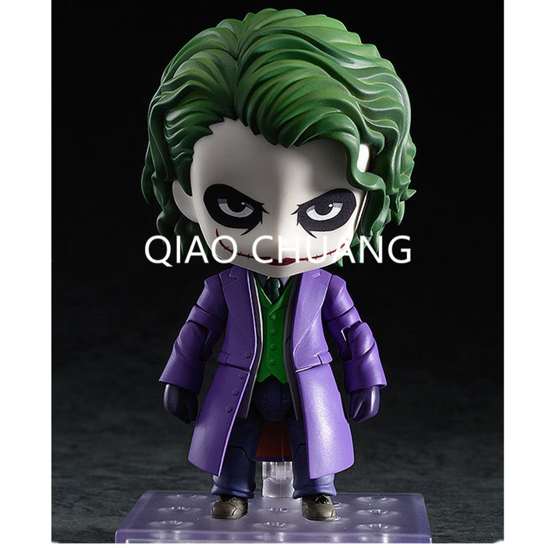 Nendoroid Batman The Dark Night The Joker Villains Edition #566 In The Face PVC Action Figure Toy Doll 4 10CM RETAIL BOX G80