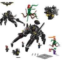 2017 New LEPIN 07056 Batman Movie Ride The Scuttler With Batman Man Bat Building Block Toys