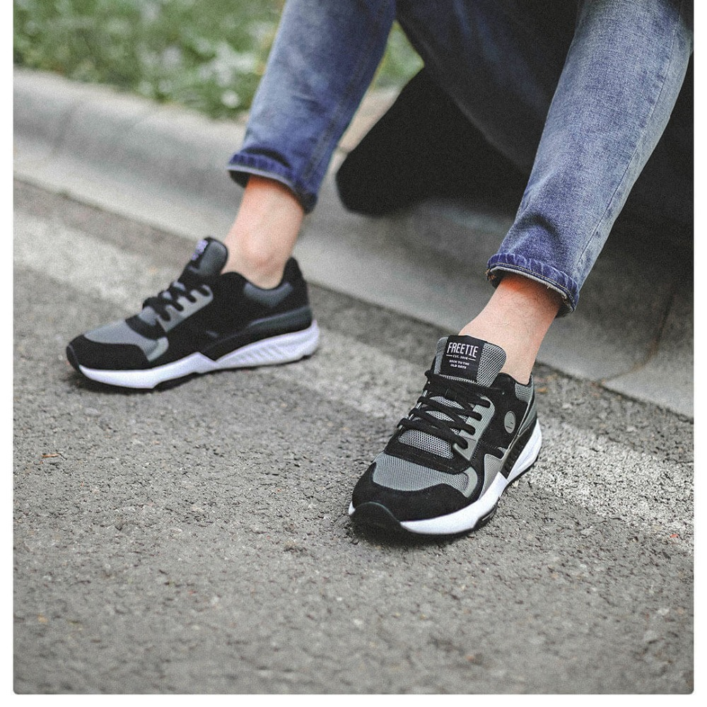 4 Colors Original Xiaomi Mijia FREETIE90 Men's Retro Sports And Casual Shoes Breathable Wear Resistant Shock Elasticity Shoes-in Smart Remote Control from Consumer Electronics    3