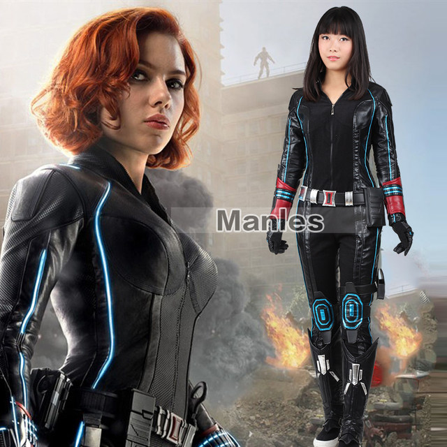 Black Widow Costume The Avengers 2 Age of Ultron Cosplay Costume Superhero Black Widow Costume Halloween Costume Adult Women  sc 1 st  Aliexpress & Online Shop Black Widow Costume The Avengers 2 Age of Ultron Cosplay ...