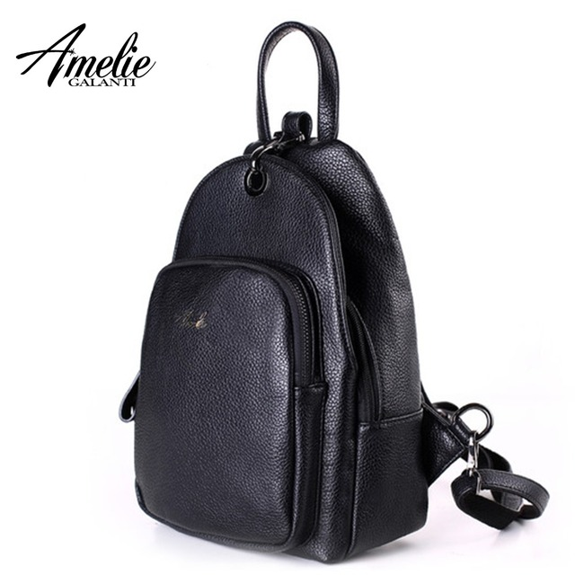 AMELIE GALANTI Women Backpack Purse Shoulders Bags Lightweight School PU  Leather Backpacks with Adjustable Shoulder Strap 803fb22fc6352