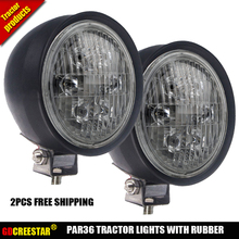12V Led sealed beam 4411 24443 Style Lights Par 36 bulb with 4.5 diameter replace GE Wagner Grote 35W Lamps x2Pcs/Lots