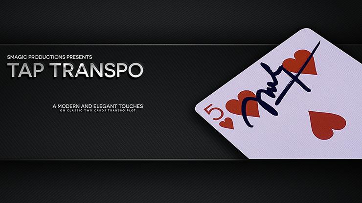 Tap Transpo (Gimmick + instruction en ligne) par Smagic Productions-tours de magie, Illusion, gros plan Magia, rue, Bar magicien jouets