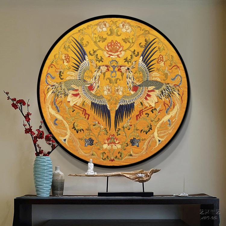 Needlework,DMC DIY Cross stitch,Full Embroidery kit,royal phoenix bird peacock gold printed Cross-Stitch handwork painting giftNeedlework,DMC DIY Cross stitch,Full Embroidery kit,royal phoenix bird peacock gold printed Cross-Stitch handwork painting gift