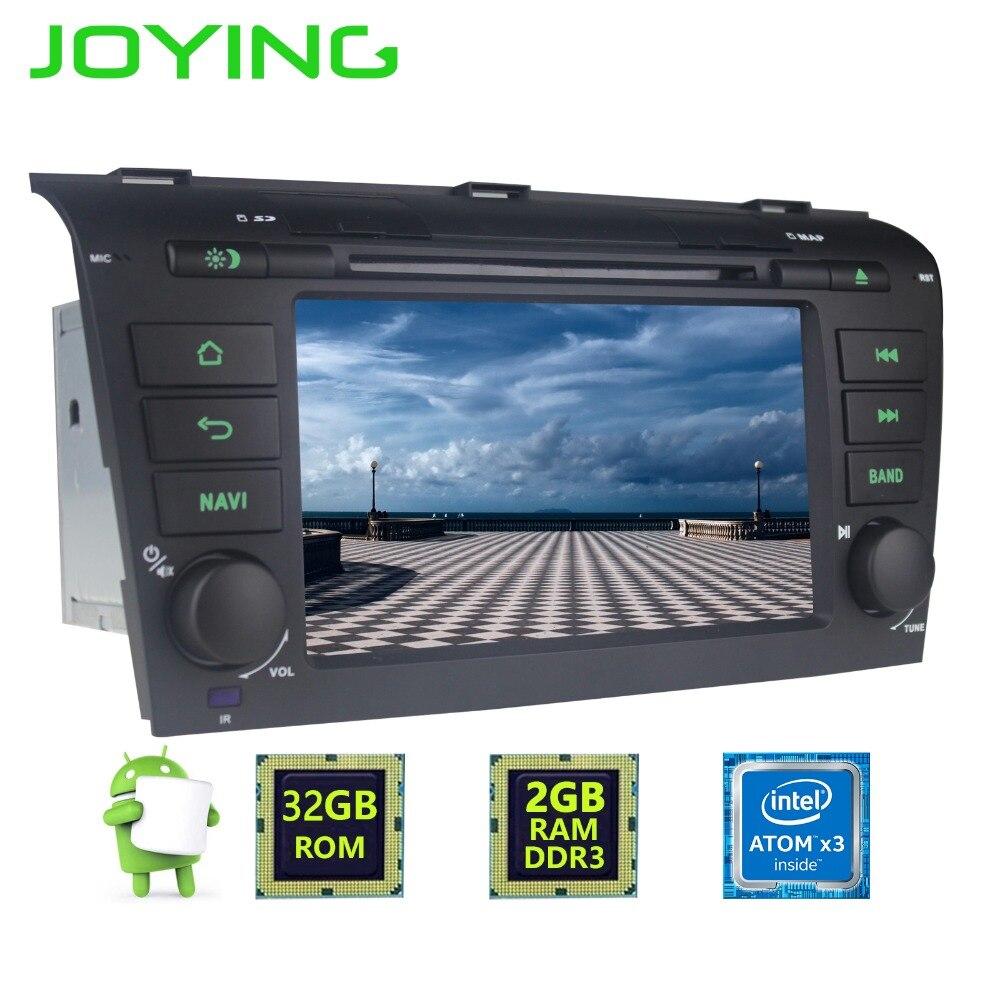 """imágenes para 7 """"Joying Doble 2 Din 6.0.1 Android Quad Core 2 GB + 32 GB 1024*600 Car Stereo Radio Navegación GPS Para Mazda 3 2004 ~ 2008 de La Cabeza unidad"""