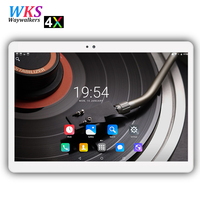Free Shipping 10 Inch 4G LTE Tablet Pc 10 Core Android 7 0 RAM 4GB ROM
