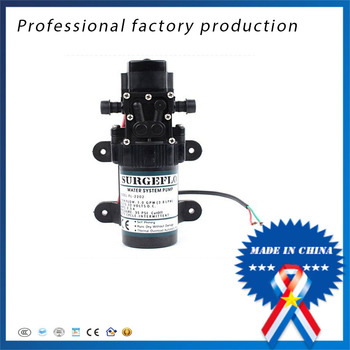2pcs 12v24v DC high pressure water pump sprayer small electric diaphragm pump for agricultural micro-pumps