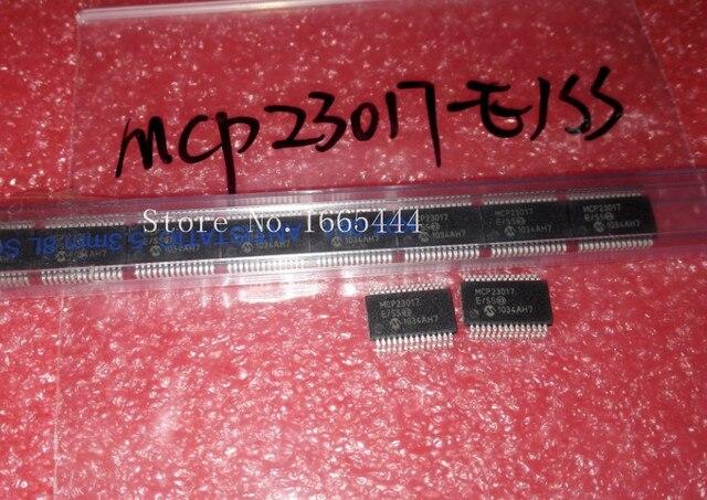 Бесплатная доставка! MCP23017 E/SS MCP23017 SSOP28 оригинальный и новый Бесплатная доставка