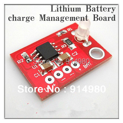 Solar charger special single section li-ion battery charging board lithium polymer battery 5v 1a lithium battery charging board charger module li ion led charging board