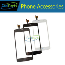 1PC/Lot High Quality For ZTE Blade L5 Plus Touch Screen Digititer Touch Panel Glass Replacement Part Black White Grey  Color