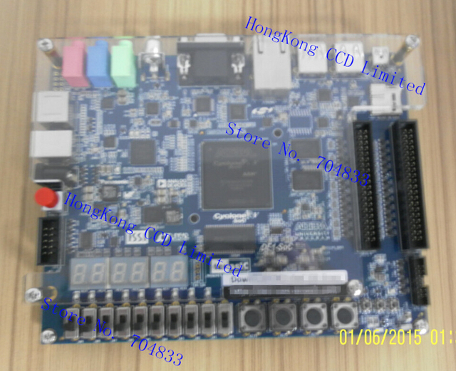 DE1-SOC FPGA development board for Cyclone V SoC 5CSEMA5F31C6