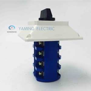 Image 5 - Yaming electric YMW26 63/4M Changeover cam switch 63A 4 poles 3 position with waterproof enclosure interruptores electricos