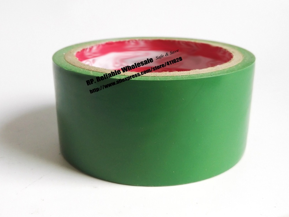 1x 4.5cm * 18 meters PVC Floor Warning Adhesive Tape Sticky /Work Area Caution Tape / Ground Attention Tape Abrasion-Proof Green multi color 1 roll 20m marking tape 100mm adhesive tape warning marker pvc tape