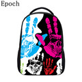 Epoch 2016 Creative Designer For your School Backpacks For Teenagers Fashion personality 3D Printing Pattern School Bag For Girl