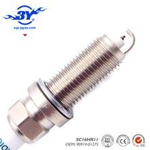 Um conjunto de (4), SC16HR-11 SC16HR11 90919-01275 Iridium vela de ignição para 267700-8300 9091901275 alta qualidade vela de ignição do carro 3A