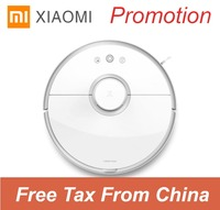 Original Roborock S50 Xiaomi Mi Robotic Vacuum Cleaner 2 With Wet And Dry Cleaning