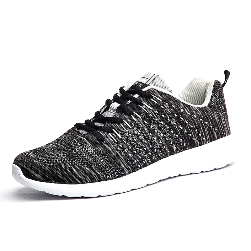 2018 New Mesh Running Shoes For Men Sneakers Outdoor Breathable Comfortable Athletic Flat Shoes Women Sports Large Shoes
