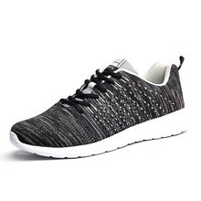 2018 New Mesh Running Shoes For Men Sneakers Outdoor Breathable Comfortable Athl