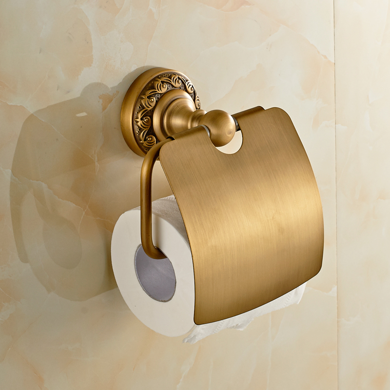 JieshalangAntique Copper Pendant towel rack toilet paper holder for toilet paper rolls of toilet paper holder Pendant